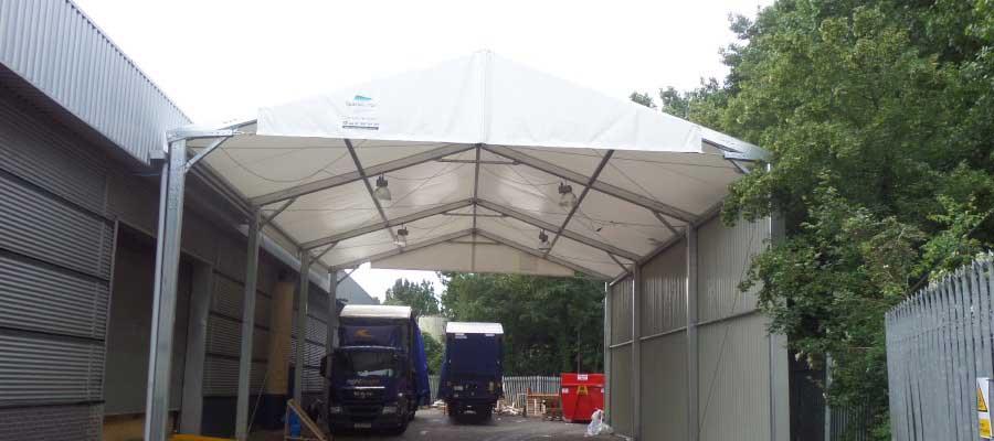 Loading Canopies