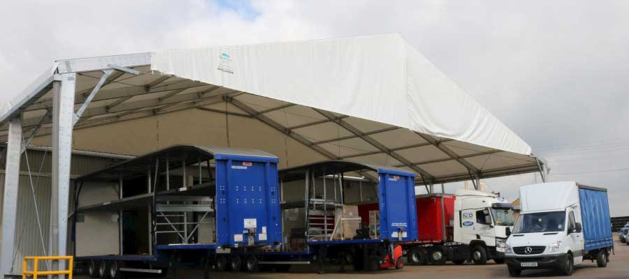Loading Canopies