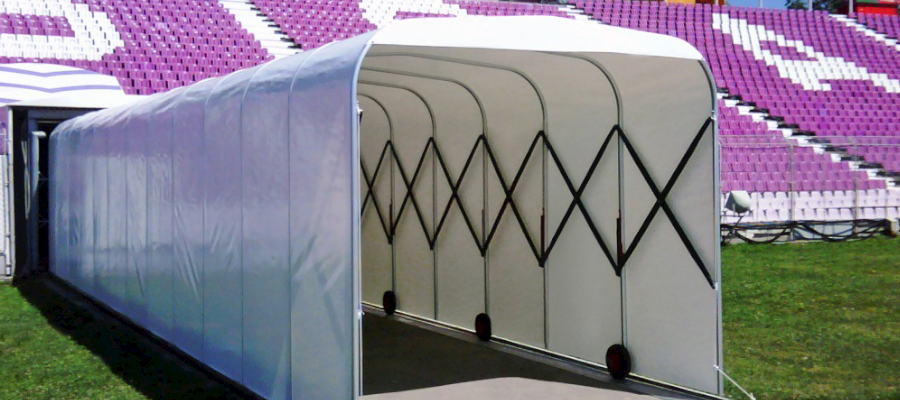 Retractable Tunnels