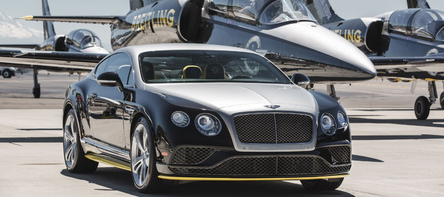 Bentley Continental GT Speed Brietling Jet Team Series