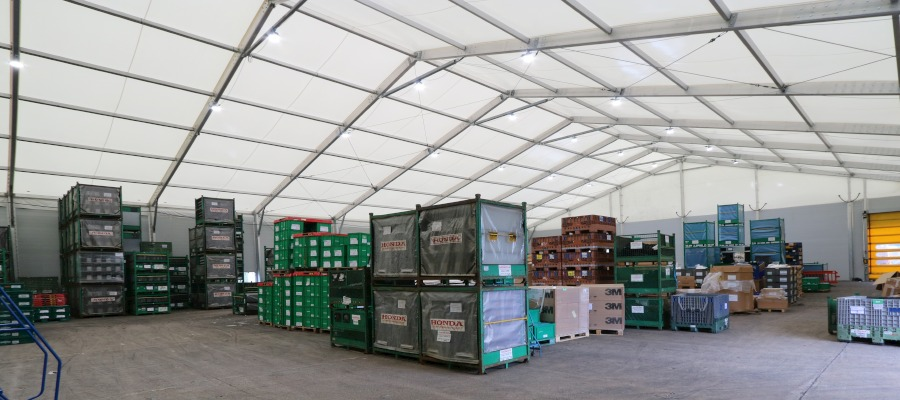 5 frequently asked questions about temporary warehouses