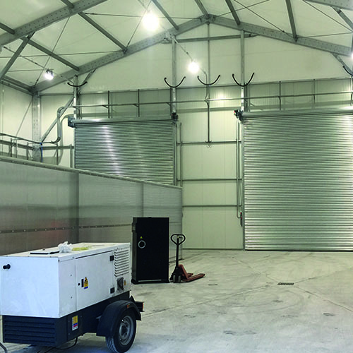 Temporary Buildings for Maintenance