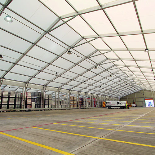 Temporary Buildings for Production and Manufacturing