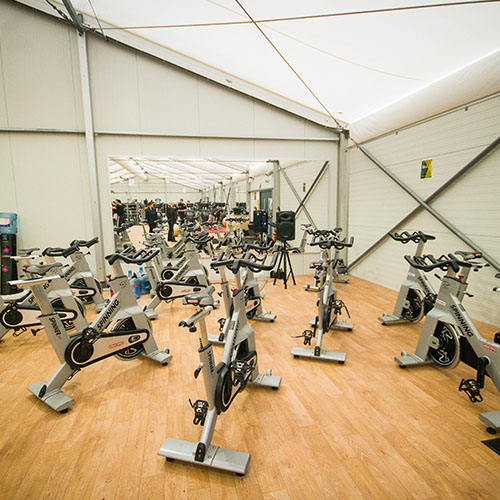Temporary Gym