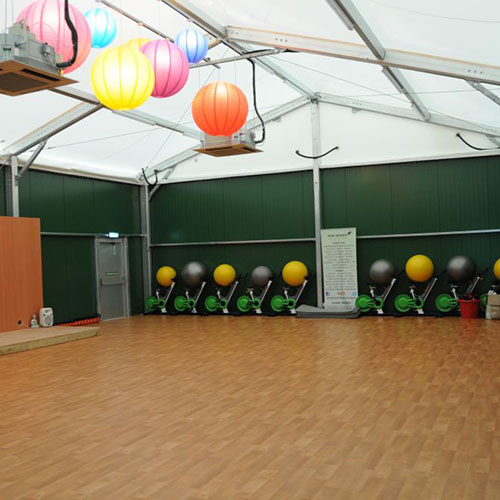 Temporary Gym