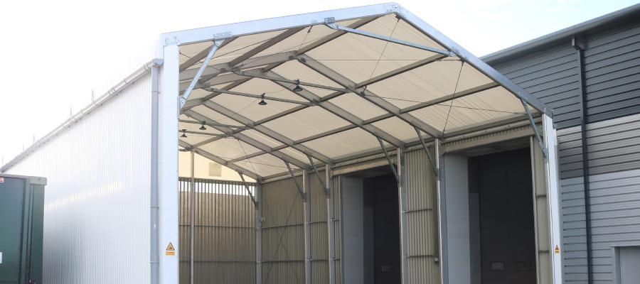 The loading canopy at Mars Jones.