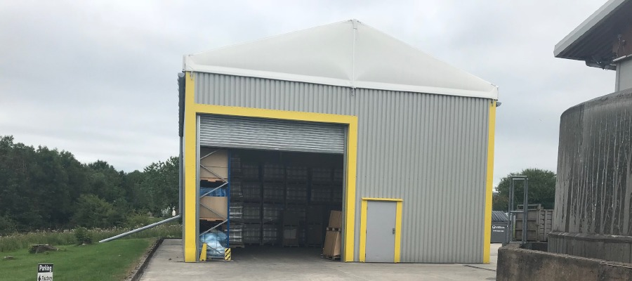 The Neivalu warehouse that helped Spaweb Ltd, in Accrington, double its profits.
