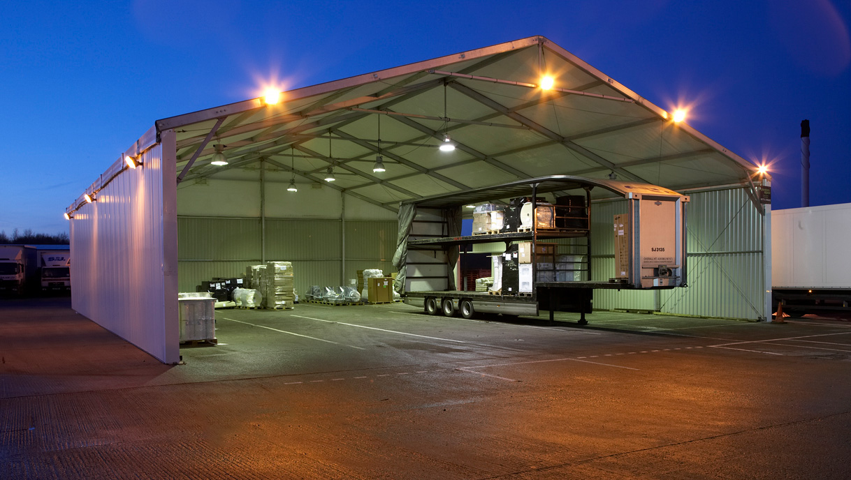 industrial loading canopies